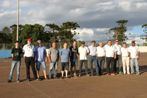 Dirigentes e comissários da região Oeste durante o seminário do último fim de semana em Cascavel