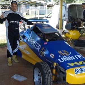 Cláudio Harmuch receberá o troféu de campeão da categoria Fórmula Tubular