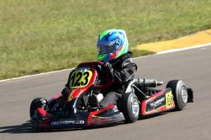 Arthur Stefani quer levar o título da categoria Cadete para Santa Catarina