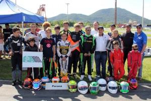 Depois de três vezes vice-campeão e uma vez terceiro, o Paraná chega ao título de campeão da Copa de Kart das Federações