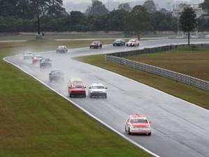 Mesmo com chuva, o nível técnico da Turismo 1.600 agradou