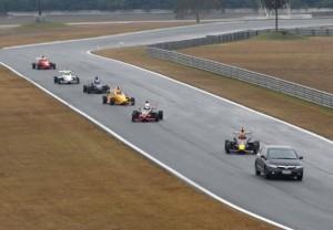 Volta de apresentação da Fórmula Premium
