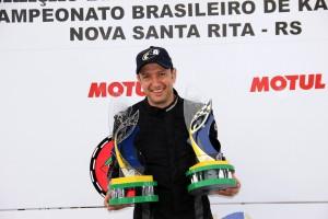 Anderson Faita, campeão brasileiro da Super Sênior no ano passado, representará Goiás no Paranaense