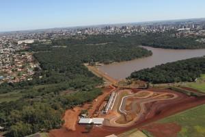 O Kartódromo Delci Damian, localizado na região do Lago Artificial de Cascavel, está pronto para o Paranaense e para a Copa Brasil de Kart