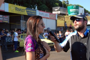 Sabrina Lorene Finco venceu a etapa passada e divida a liderança da categoria Dianteira Turbo B com Carlos Eduardo Moreira