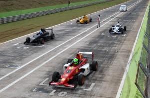 A categoria Fórmula mostrou uma nova geração de pilotos