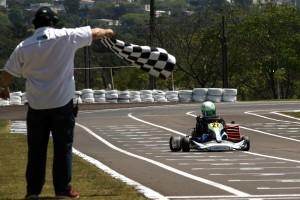 Mauricio Zaffari conquistou a segunda vitória de Cascavel ao ganhar a prova da categoria Novatos