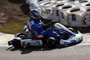 O paranaense Marcos Fernandes será o pole position da categoria Sênior B