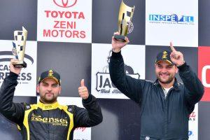 Felipe e Caíto Carvalho conquistaram a primeira dobradinha na categoria Marcas B