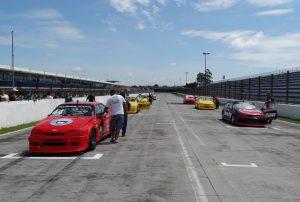 A prova da catetoria Turismo 5000 foi no fim da manhã deste domingo
