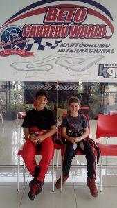 Nicolas Romanhole e Thiago Ferreira são as novas estrelas do kartismo de Londrina