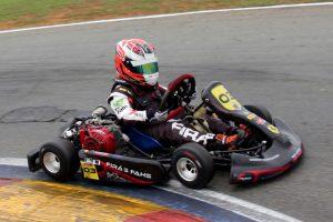 Firas Fahs, revelado na Escolinha de Kart de Foz do Iguaçu, é o primeiro a garantir presença no Paranaense de Kart na categoria Mirim