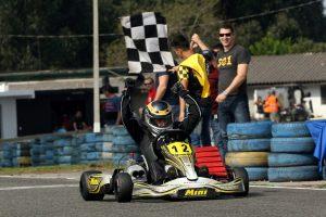 Iuri Ziemer manteve a liderança da categoria Sênior coma vitória no último sábado