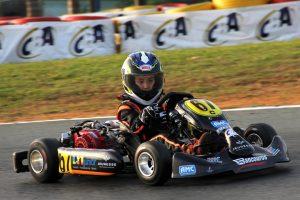 Thiago Dalan Ferreira, que disputará a Cadete, foi revelado pela Escolinha de Kart de Londrina