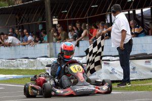 Eduardo Ribas Giglio conquistou o título com uma bela atuação no Kartódromo Luigi Borghesi