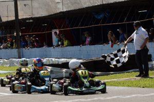 Gabriel Bonilha ganhou as duas provas da categoria Cadete