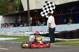 O gaúcho Heitor Dall'Agnol dominou a categoria Mirim e ganhou as duas provas