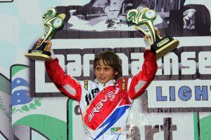 Heitor Dall'Agnol levou o título da categoria Mirim para o Rio Grande do Sul