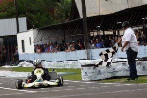 O londrinense Luiz Fernando Berbel sagrou-se campeão da categoria Júnior Menor