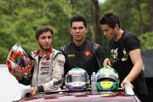 Nathaniel Bueno, Leonardo Cruz e Higor Hoffmann, as feras da categoria Shifter no Paraná neste ano