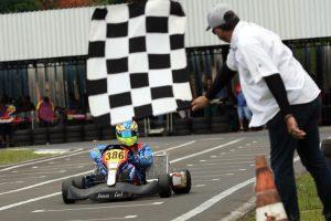 Gustavo Moura garantiu uma das duas vitórias de Santa Catarina ao ganhar a categoria Sprinter