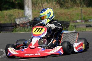 Carlos Saderi, da categoria Super Sênior, é um dos kartistas de Londrina mais conhecido no Brasil