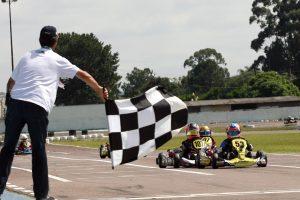 Gabriel Malucelli venceu a categoria Cadete em uma chegada emocionante