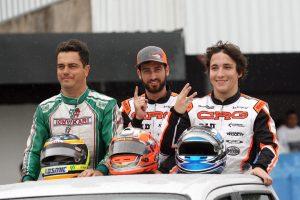 André Nicastro, Olin Galli e João Renato Corbellini, domínio do rio de Janeiro na categoria Graduados
