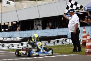 O paulista Yuri Morelli Pereira se classificou na terceira colocação