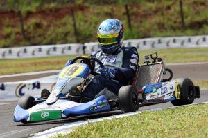 Marcos Fernandes dos Santos irá defender a liderança da categoria 125 A na 2ª etapa do Citadino de Cascavel
