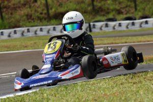 Bernardo Miola, de Foz do Iguaçu, irá disputar a categoria Cadete (Foto: Mario Ferreira)