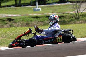 """Diego Balem """"atropelou"""" na final e se sagrou campeão da categoria 125cc (Foto: Mario Ferreira)"""