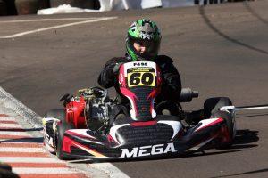 Eloy Lattmann foi o grande nome do Pato-branquense de Kart, sendo campeão das categorias F-4 Super e F-4 Light e vice na TAG/Rotax (Foto: Mario Ferreira)