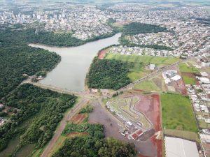 O Kartódromo Delci Damian já está praticamente pronto para o Campeonato Brasileiro de Kart, em julho (Foto: Mario Ferreira)