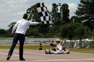 Diego Dias Said é o campeão da categoria F-4 depois de ganhar também os torneios de Verão e Inverno (Foto: Mario Ferreira)