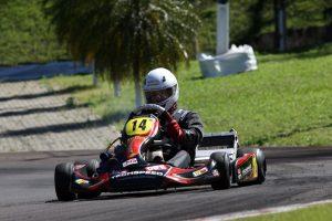 Lucian Brandalize chega à final como líder da categoria 125cc (Foto: Mario Ferreira)