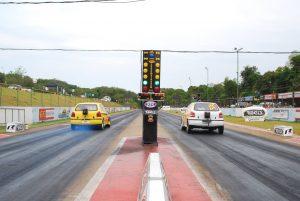 A pista do Race Park, em Maringá, irá sediar duas etapas do Paranaense de Arrancada deste ano (Foto: Juliano Julio/Divulgação)