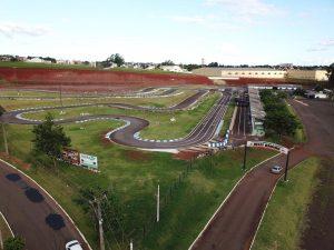 O Kartódromo Delci Damian, que em julho sediará o Campeonato Brasileiro, recebe pilotos de vários estados neste fim de semana (Foto: Mario Ferreira)