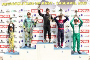 Murillo Fiore, de Cascavel, subiu ao pódio da categoria Graduados na posição nº 1 (Foto: Mario Ferreira)