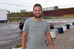 Mailson Araújo, diretor financeiro do Kart Clube, diz que Cascavel está preparada para receber bem kartistas de todo o Brasil (Foto: Mario Ferreira)