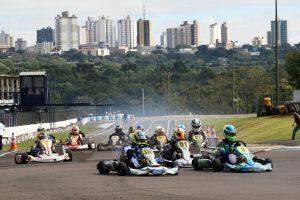 O Kartódromo Delci Damian, em Cascavel, sediará no próximo fim de semana o Open do Campeonato Brasileiro de Kart (Foto: Mario Ferreira)