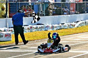 Felipe Vriesmann garantiu o título da categoria Mirim (Foto: Mario Ferreira)