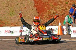 Gaetano de Mauro dominou a categoria KZ Graduados (Foto: Mario Ferreira)