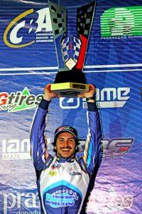 Júnior Flores foi campeão brasileiro da categoria Novatos (Foto: Mario Ferreira)