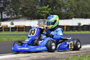 Firás Fahs sagrou-se campeão da categoria Cadete com vitória na última etapa (Foto: Pablo Salazar)