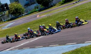 O Paranaense de Kart será disputado na próxima semana no Raceland Internacional (Foto: Divulgação)
