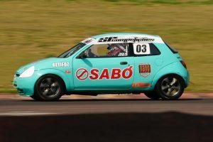A dupla Juca Lisboa/Stive Tokarski disputa a categoria Marcas A com um Ford KA (Foro: Victor Lara)