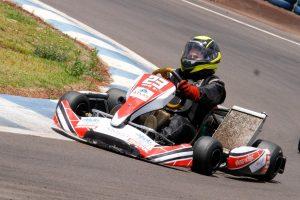 Délia Pires levou o título da categoria 125 Sprinter (Foto: Tiago Guedes/Divulgação)