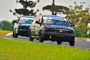 A dupla Marcelo Cancelli/Ezequiel Dall Asta venceu a categoria Turismo B (Foto: Victor Lara)