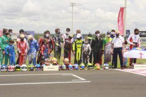 A delegação do Paraná foi a segunda maior da primeira fase do Brasileiro de Kart (Foto: Genésio da Silva/Divulgação)